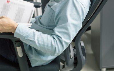 Il benessere della schiena mentre si lavora