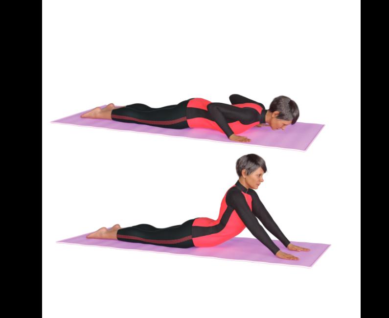 Esercizi<br>per la schiena